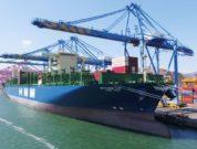 HMM's first 16,000 TEU containership HMM Nuri