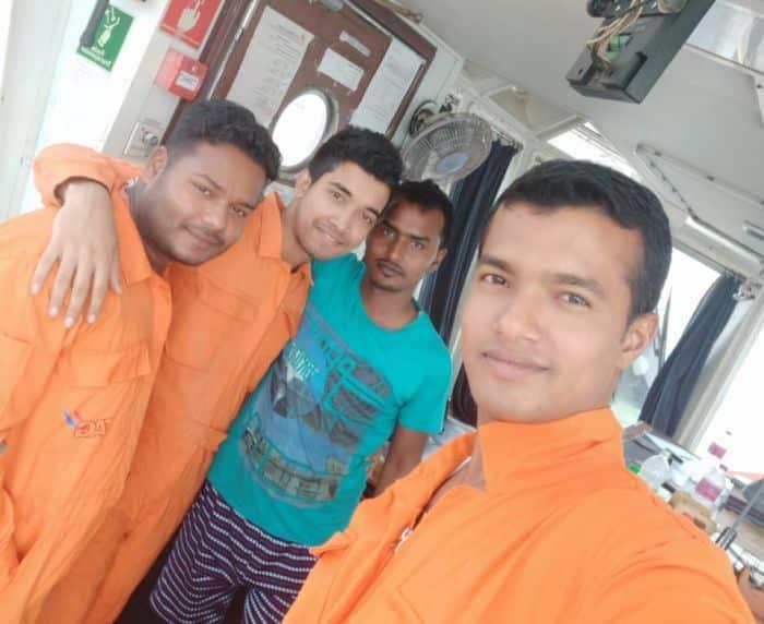 4 Seafarers - modern day slaves crew