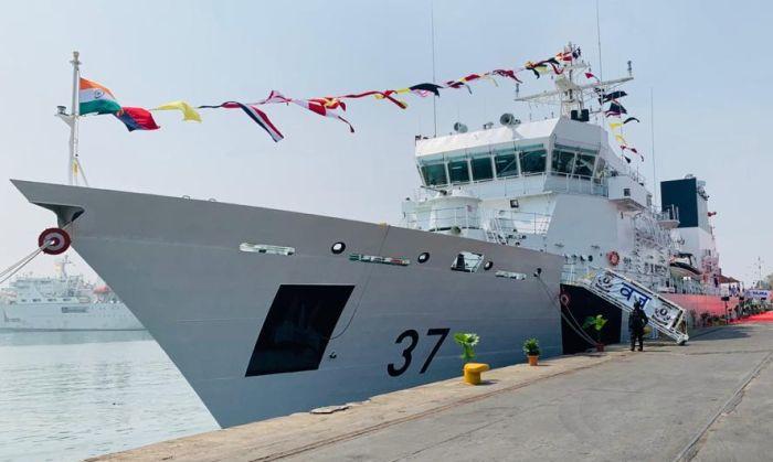 Indian Coast Guard Vajra