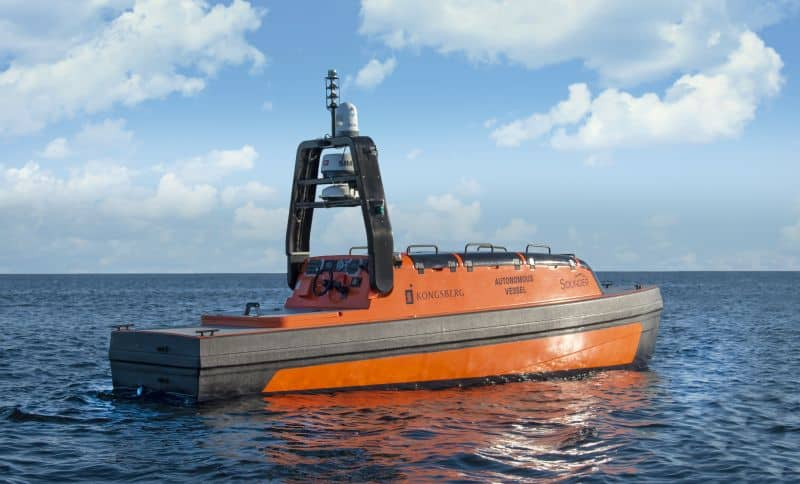 KONGSBERG secures contract to deliver full solution for ecosystem monitoring using autonomous vessels