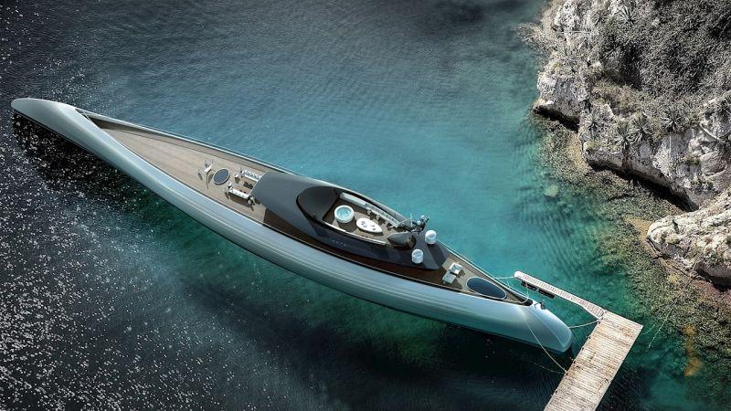 Oceanco's visionary superyacht_Tuhura_featuring_contra-rotating Azipod propulsion from ABB