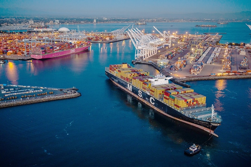 PORT OF LONG BEACH REPORTS BUSIEST FEBRUARY ON RECORD