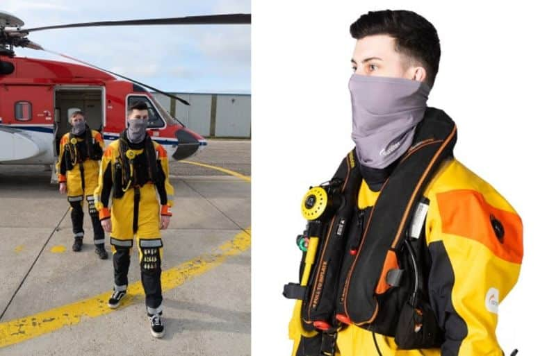 Survitec Unveils Unique Face Covering With Anti-Viral Properties For Maritime Crew Protection