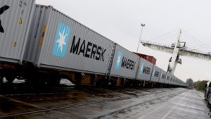 Maersk Container Train
