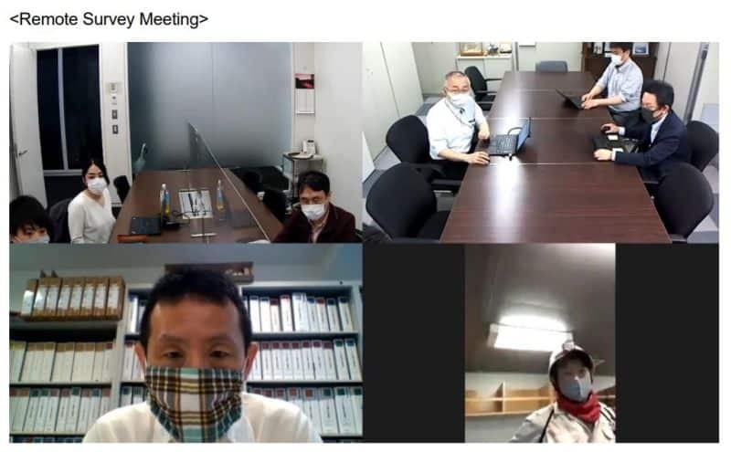 remote survey meeting
