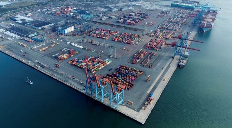 skandiahamnen-western-quay - APM Terminal To Operate New Sustainable Short-Sea Terminal In Gothenburg