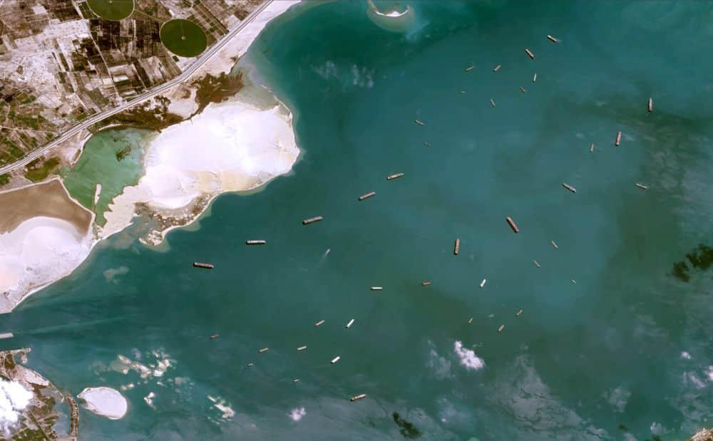 stranded vessels