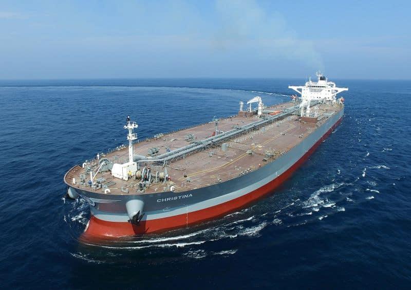 159,000 ton class crude oil carrier built by Hyundai Heavy Industries