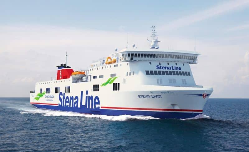 186 metre long Visentini RoPax vessel Stena Livia
