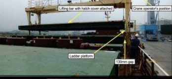 2nd Officer Dies After Getting Crushed Between Vessel's Gantry Crane And Hatch Covers