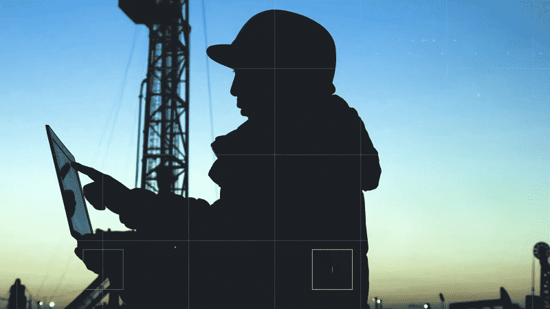 ABS offshore survey maintenance representation silhouette