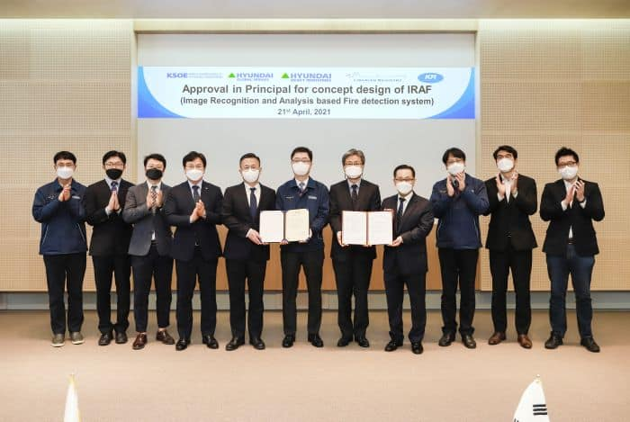AIP Ceremony (AI Fire Detection Sys)