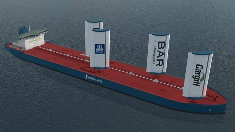 BAR Technologies and Yara Marine partner to bring WindWings to global shipping market