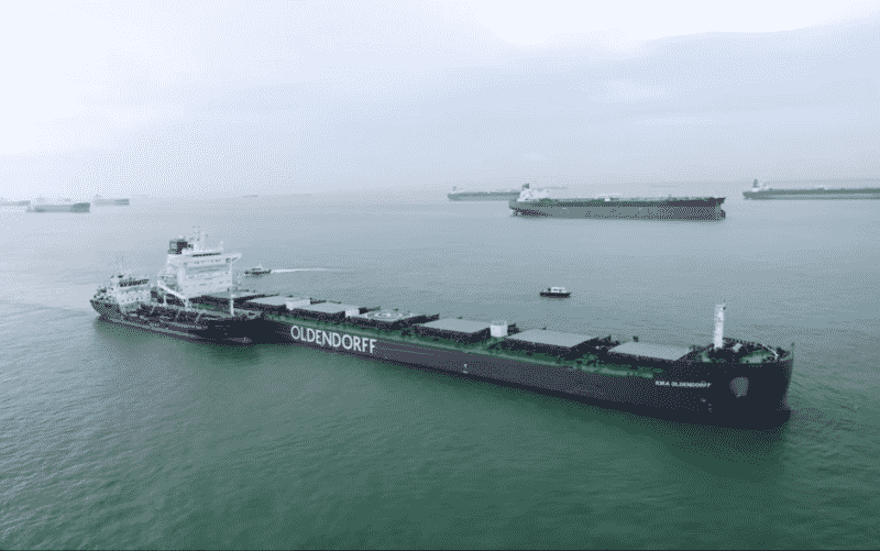 BHP, Oldendorff & GoodFuels Successfully Complete First Trial With Biofuel Supplied In Singapore