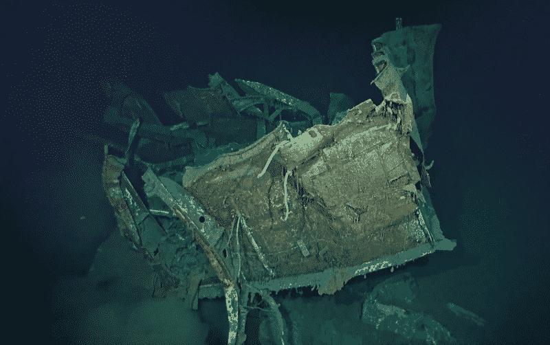 Shipwreck representation
