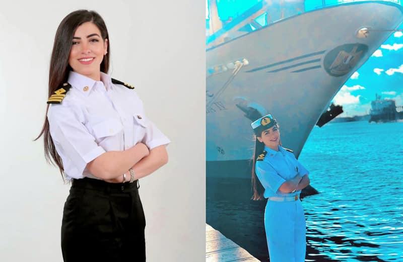 Egypt's first FEMALE ship captain