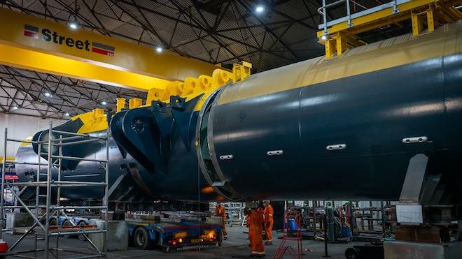 Hempel protects the ground-breaking O2 tidal energy turbine