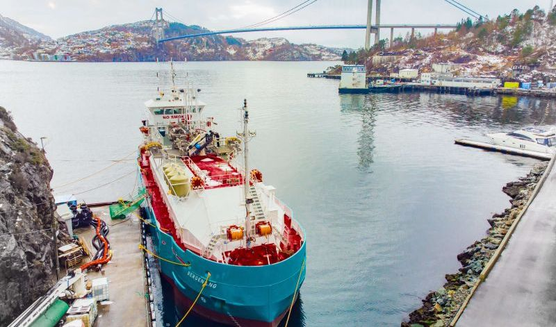 Høglund Contributes To The Conversion Of Norway's First LNG Bunkering Vessel