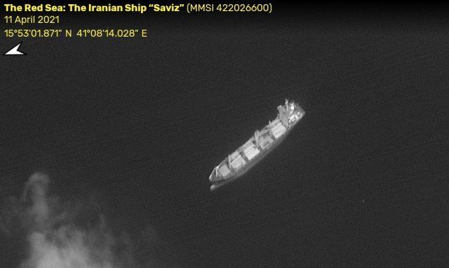 Iranian Ship 'Saviz' - Red Sea