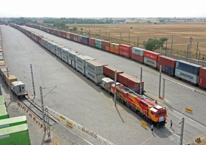 Maersk Launches A Dedicated Rail Service Between Gurugram And APM Terminals Pipavav Port