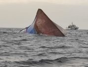 Mangalore Cargo ship collision - capsize