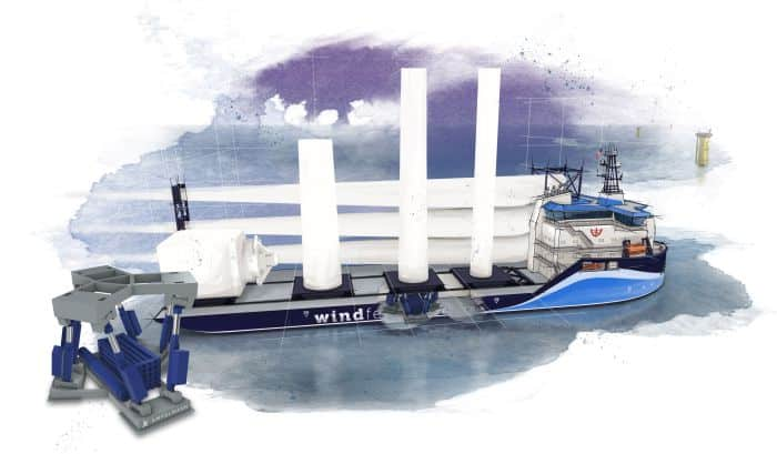 Offshore Wind Feeder Vessel Design Reveal By Ampelmann And C-job Naval Architects