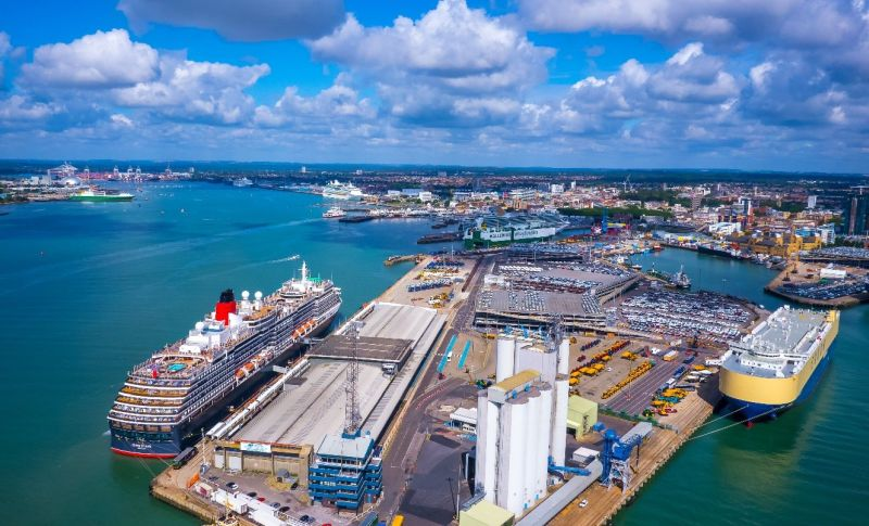 Port Of Southampton To Become First UK Mainland Port With A Private 5G Network