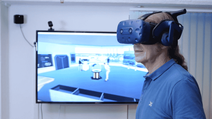 Virtual Port viewed from VR Headset