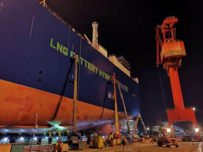 Preparing to launch UECC's first LNG battery hybrid PCTC