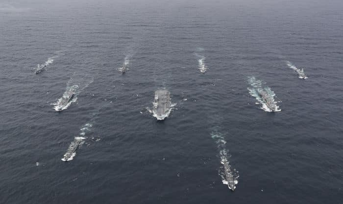 UK Carrier Strike Group Assembles