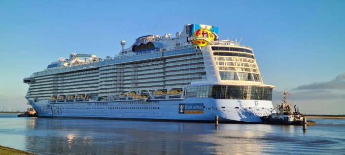 Royal Caribbean Welcomes Brand-New Ship 'Odyssey'