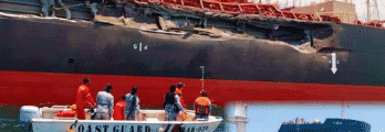 Tanker Ship And Cargo Vessel Collide Near Philippines, Suffer Severe Damage