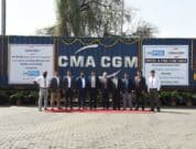 The CMA CGM Group and Hasti Petro Chemical & Shipping Ltd jointly received their first ever Block Train from Mundra to the ICD at Sanand, Gujarat