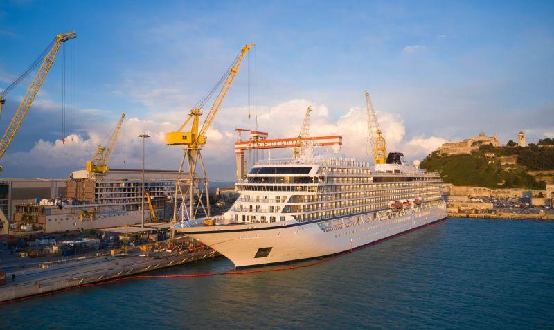 Viking Cruises venus at Fincantieri