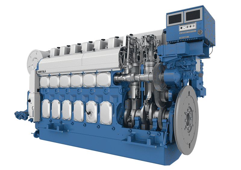 Wärtsilä-20-engine-fitted-with-a-Wärtsilä-NOx-Reducer-(NOR)-is-undergoing-certification-testing-for-compliance-with-China's-Stage-II-emissions-standard