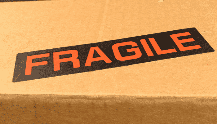 container fragile