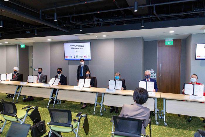 MPA and six strategic partners signed a Memorandum of Cooperation to establish a S$120 million fund.