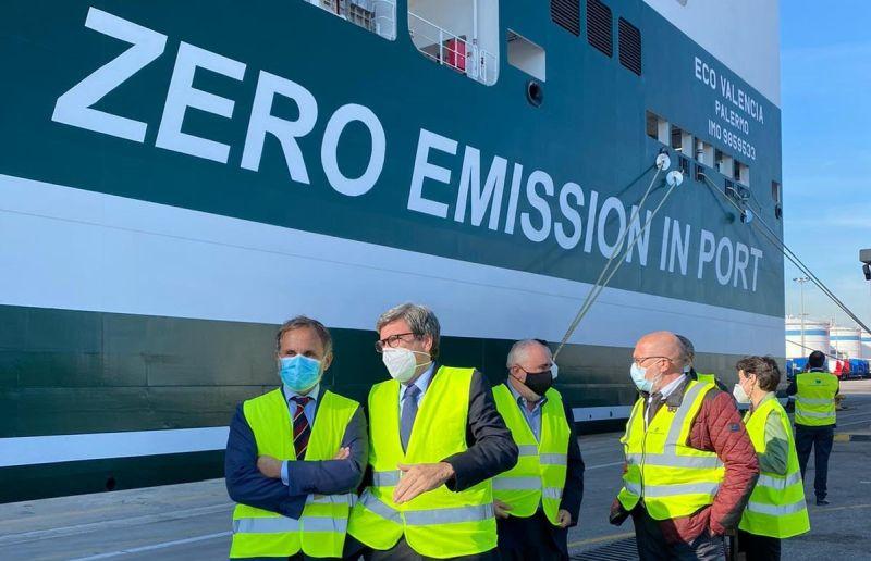 zero emissions in port