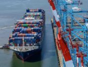 APM Terminals Elizabeth welcomes largest container ship to call US East Coast