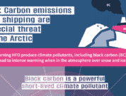 Black carbon emissions from shipping are a special threat for the arctiv