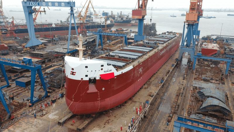 CSL Salt ship launch