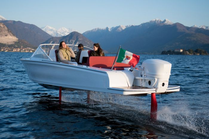 Candela C-7 is the world's first electric hydrofoil boat - and will be available for test drives in Venice, May 29- June 6