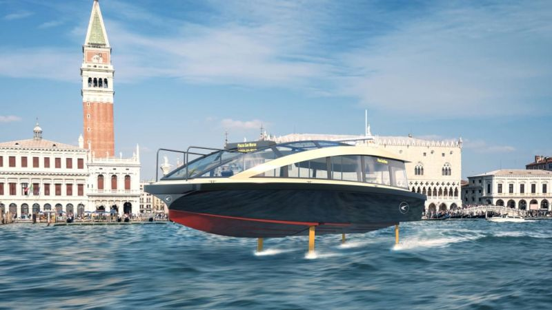 Candela P-30 is an electric ferry that builds on Candela's technology developed for the leisure boats model C-7