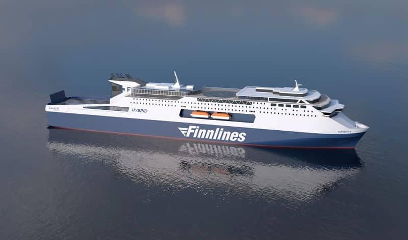 Finnlines Superstar ropax vessel