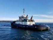 Foss' Leisa Florence ASD-90 tugboat, sister vessel to Rachael Allen (photo - Foss Maritime)