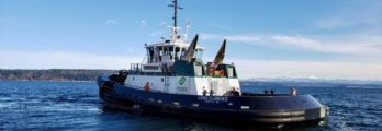 Foss' Leisa Florence ASD-90 tugboat, sister vessel to Rachael Allen (photo - Foss Maritime)