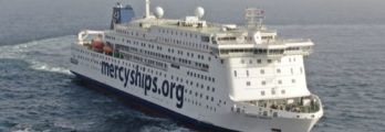 Global Mercy Sea trial Photo Stena RoRo