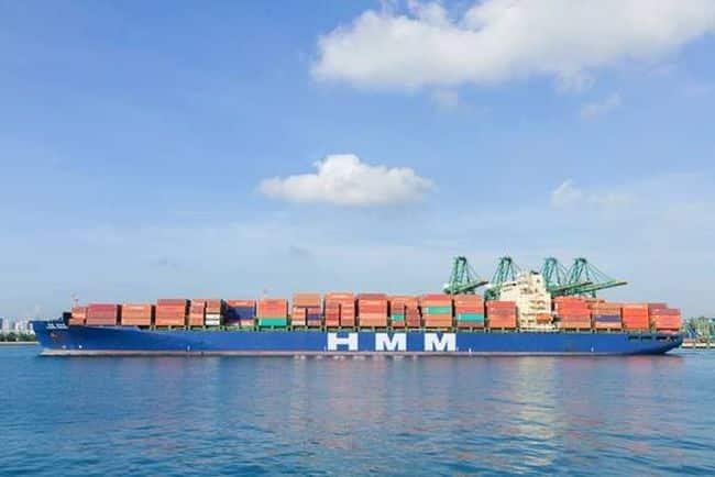 Hyundai Forward, the 5,000 TEU vessel operated on the CIX(China India Express) service, calling at India