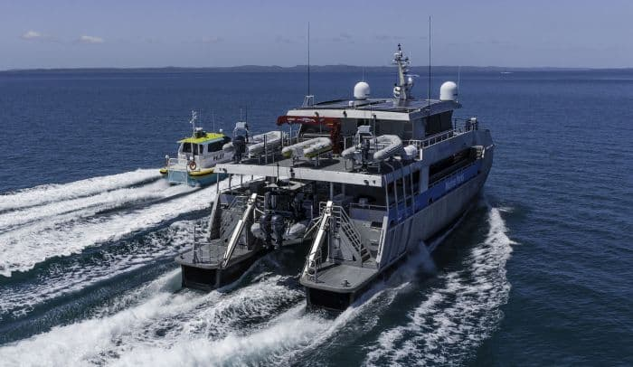 Incat Crowther Launches New Generation Patrol Boat To Protect The Great Barrier Reef - 2