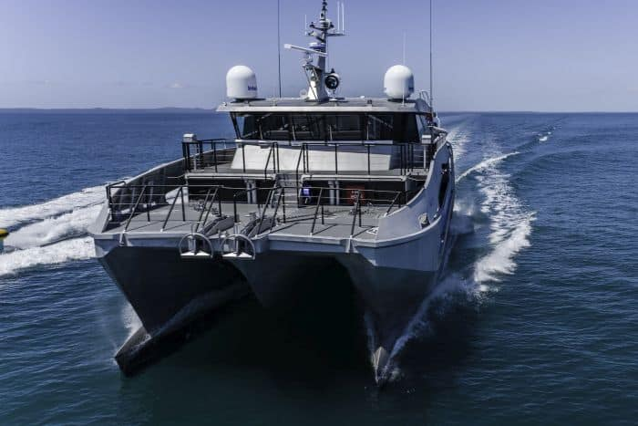 Incat Crowther Launches New Generation Patrol Boat To Protect The Great Barrier Reef - 3